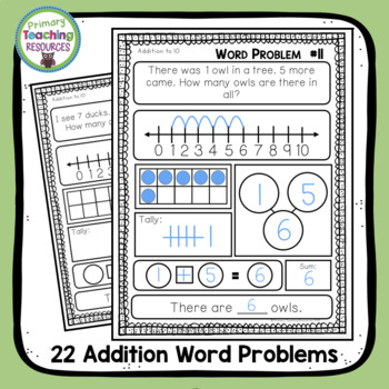 Word Problems: Addition & Subtraction