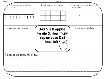 Word Problems (Addition & Subtraction) Common Core