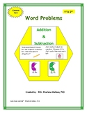 Guided Math 2nd Grade Word Problems Addition & Subtraction