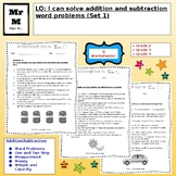 Word Problems: Addition and Subtraction (Set 1)