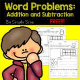 Free Download! Math Word Problems: Addition and Subtraction