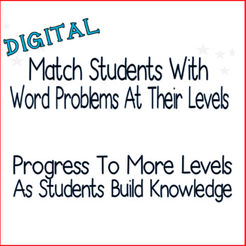 Word Problems App (Addition and Subtraction) Three Levels-Digital Task Cards