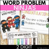 Addition and Subtraction Word Problems Two Digit Activities Distance Learning