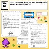 Word Problems: Addition and Subtraction (Set 2)