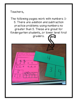 Word Problems- Addition and Subtraction to 20
