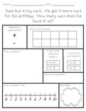 Word Problems - Addition and Subtraction within 10