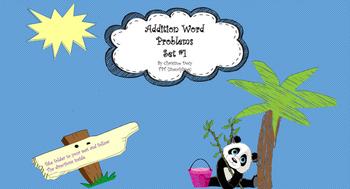 Word Problems-Beginning Addition