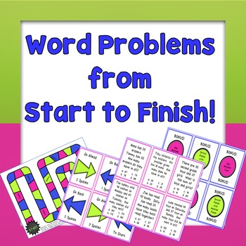 Word Problems- Board Game
