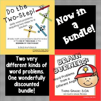 Third Grade Word Problems Bundle