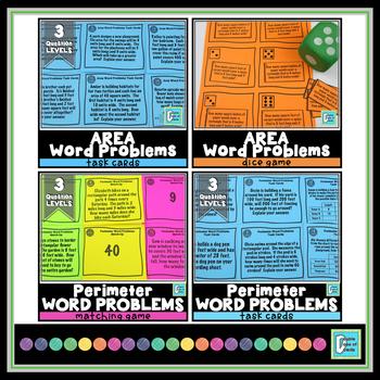 Word Problems Bundle - 3rd Grade