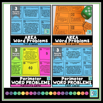 Word Problems Bundle - 3rd Grade