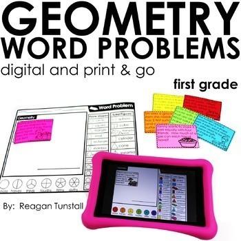 Word Problems Bundle First Grade