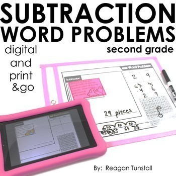 Word Problems Bundle Second Grade