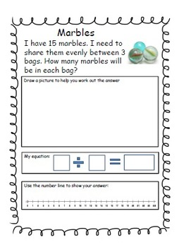 Word Problems Bundle (addition, subtraction, multiplication and division)