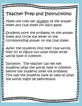 Word Problems:  Converting Fractions, Decimals, and Percents