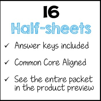 Word Problems Daily Math Review 3rd Grade Bell Ringers Warm Ups Tpt