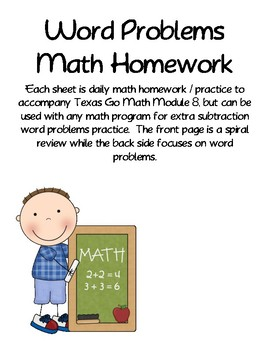 Word Problems Daily Practice