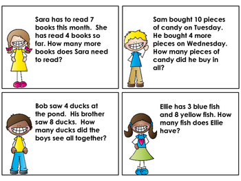 Word Problems: Daily Warm ups