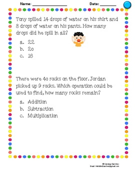 Word Problems (Differentiated!)
