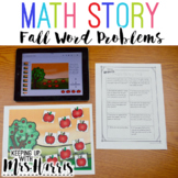 Word Problems - Fall Story Mats