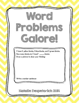 Word Problems Galore! {Common Core Aligned}