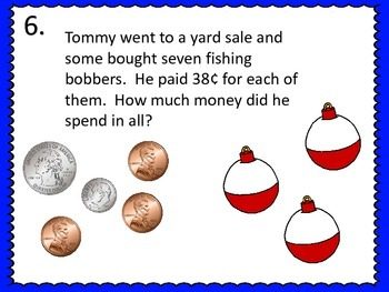 Word Problems Galore--Fishing Theme