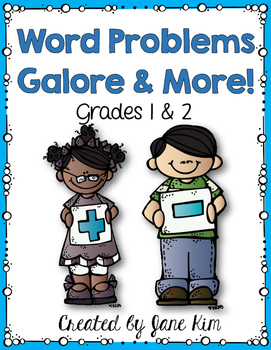 Word Problems: Grade 1 & 2