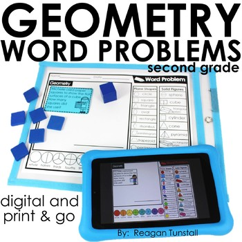 Word Problems Geometry Second Grade