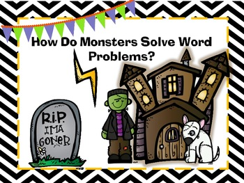 Word Problems- Halloween Themed!