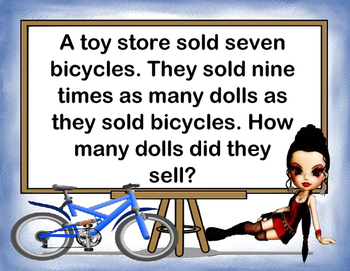 Word Problems II - Multiplication and Division