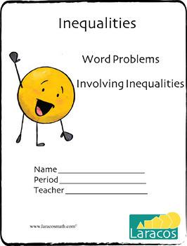 Word Problems Involving Inequalities (English/Spanish)
