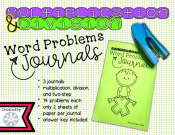 Word Problems Journals GROWING BUNDLE