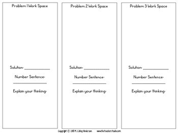 Word Problems: Larger Number Division Task Cards (Includes Remainders)