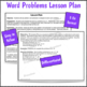 1st Grade Math Lesson Word Problems