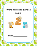 Word Problems Intervention  Level 2 B