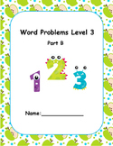 Word Problems Intervention Level 3 B