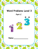 Word Problems Intervention Level 3 C