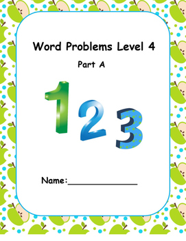 Word Problems Intervention  Level 4 A