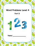 Word Problems Intervention Level 4 B