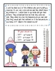 2nd Grade Word Problems - Math Mystery-Case of the Silly Snow Day