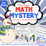 3rd Grade Word Problems - Math Mystery - Case of the Silly