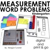 Word Problems Measurement Kindergarten