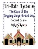 2nd Grade Word Problems - Mini-Math Mystery - Jogging Gingerbread Boy