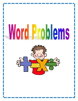 Word Problems Mini-Unit .  Simple Story Problems