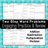 Two Step Word Problems - Multi Step Word Problems