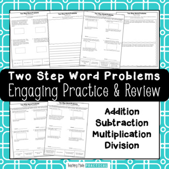 Two Step Word Problems Mix and Match - Multi Step Word Problems