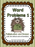 Word Problems - Multiplication and Division