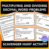 Word Problems:  Multiplying and Dividing Decimals