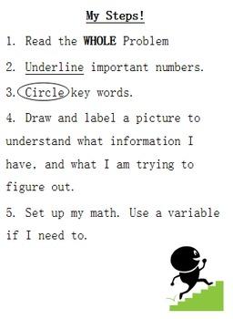 Word Problems? No Problem!!!