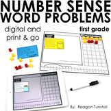 Word Problems Number Sense First Grade
